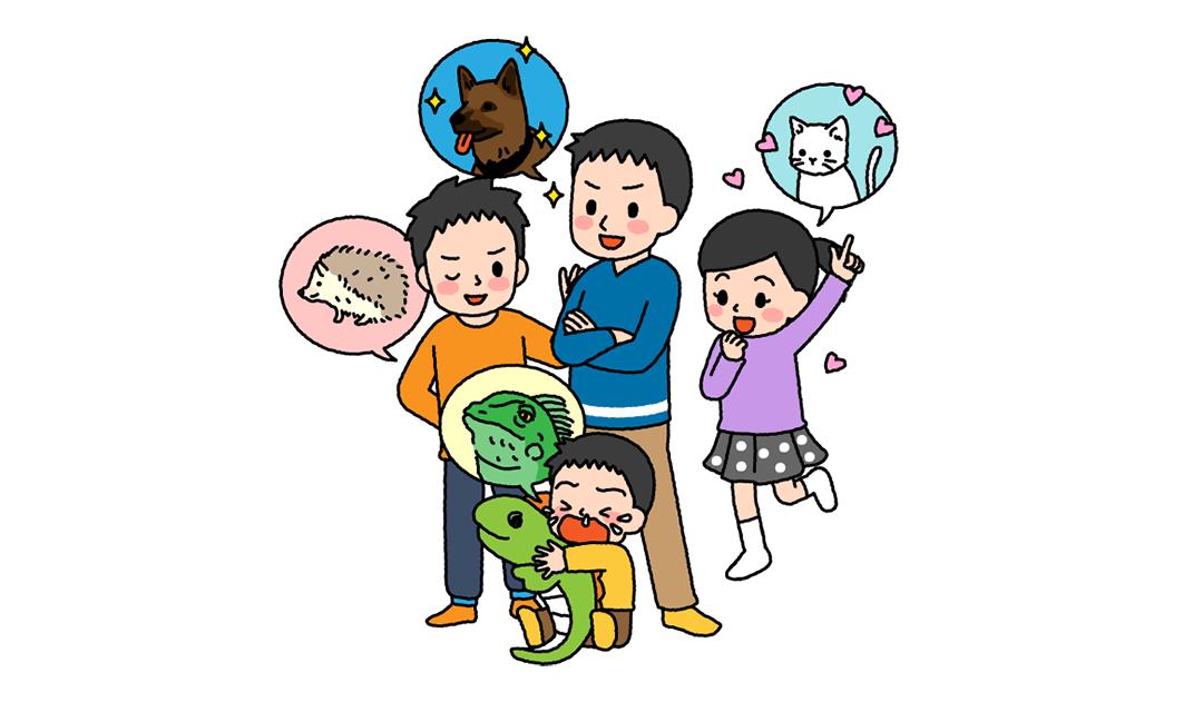親のキモチ・子のキモチ:ペットの世話は誰がする?