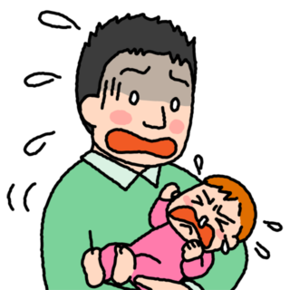親のキモチ・子のキモチ:なんでボクだと泣いちゃうの……
