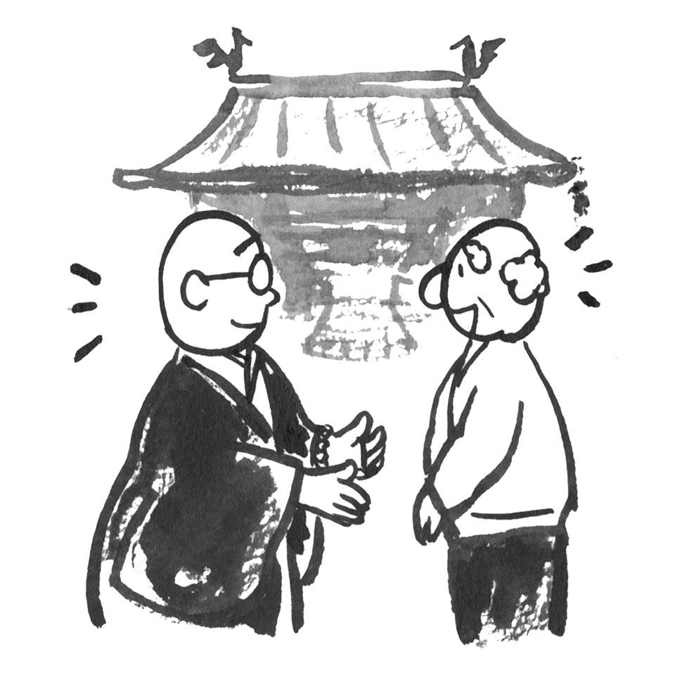和尚と考える終活:「行き場」ありますか?